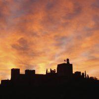 Aurora sobre Alhambra – Mª Celia Chaves Ribeiro (Brasil)