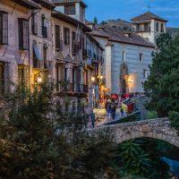Anocheciendo en Granada – Manuel Martínez Garcia