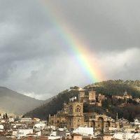 Arco iris en Granada
