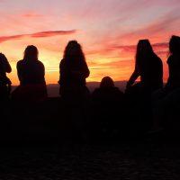 La puesta del sol desde San Miguel Alto – Dennis Chen (EEUU)