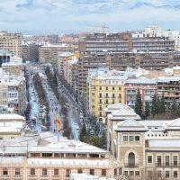 Mañana nevada en Granada – Vincent Prevost (FRANCIA)