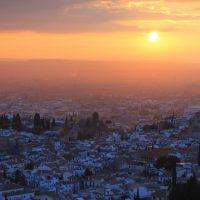El ojo arriba de Granada