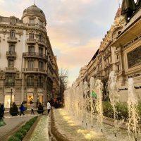 Cielo mágico en Granada